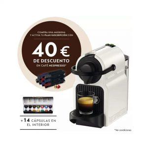 Cafetera Krups XN1001 Nespresso Inissia blanc