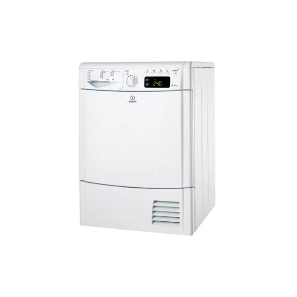Secadora de condensación marca Indesit modelo EDCEG45BH carga 8 kg