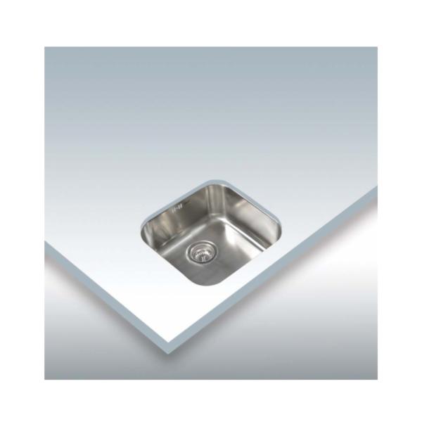 Pica aigüera CATA CB 40 40 Inox d'instal·lació sota taulell