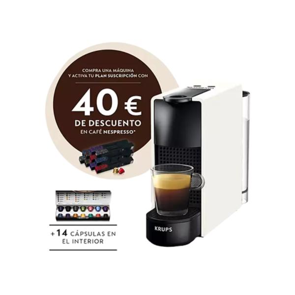 Nespresso Krups Essenza Mini XN1101 PR5 color blanc