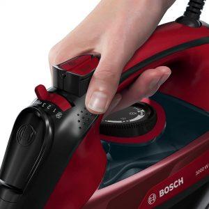 Planxa de vapor Bosch TDA503001P amb 3000W
